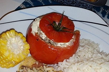 Gefüllte Tomaten mit Hackfleisch 8