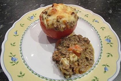 Gefüllte Tomaten mit Hackfleisch 15