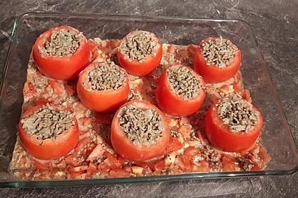 Gefüllte Tomaten mit Hackfleisch 16