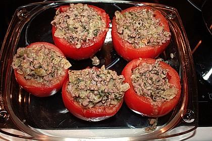 Gefüllte Tomaten mit Hackfleisch 9