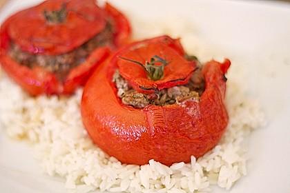 Gefüllte Tomaten mit Hackfleisch 3