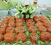 Gefüllte Tomaten mit Hackfleisch (Bild)