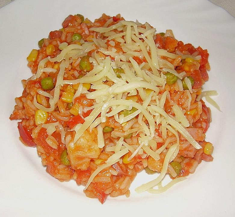 Schnelle Blechkuchen Rezepte Mit Bild: Schnelle Reispfanne (Rezept Mit Bild) Von Whoistrinity