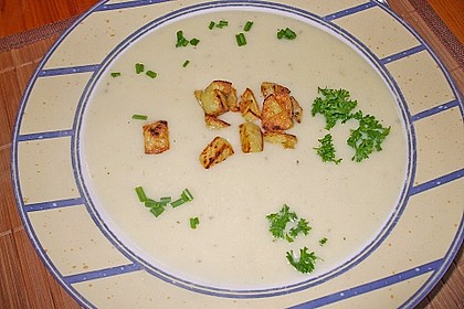 Kartoffelcremesuppe 11