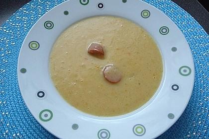 Kartoffelcremesuppe 1