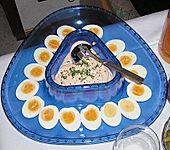 Eier mit Currysahne (Bild)