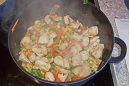 Hähnchen - Gemüsecurry 2