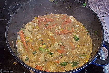 Hähnchen - Gemüsecurry 1