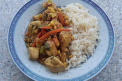 Hähnchen - Gemüsecurry