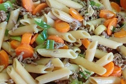 Curryrahm - Nudeln mit Hackfleisch 16