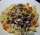 Curryrahm - Nudeln mit Hackfleisch (Bild)