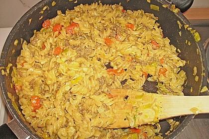 Curryrahm - Nudeln mit Hackfleisch 31