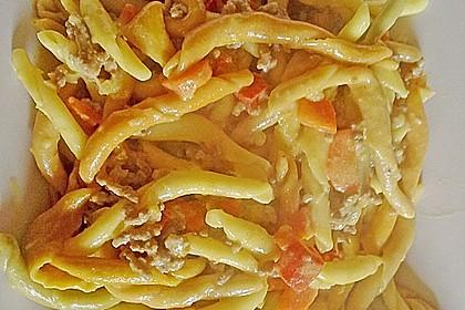 Curryrahm - Nudeln mit Hackfleisch 14