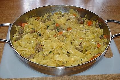 Curryrahm - Nudeln mit Hackfleisch 10