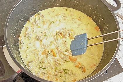 Curryrahm - Nudeln mit Hackfleisch 40