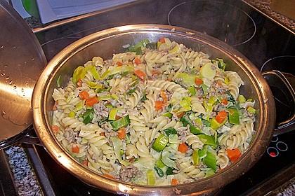 Curryrahm - Nudeln mit Hackfleisch 25