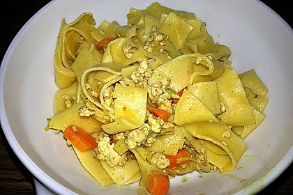 Curryrahm - Nudeln mit Hackfleisch 34