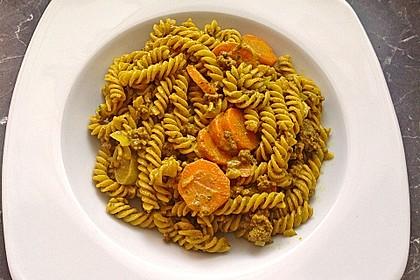 Curryrahm - Nudeln mit Hackfleisch 24
