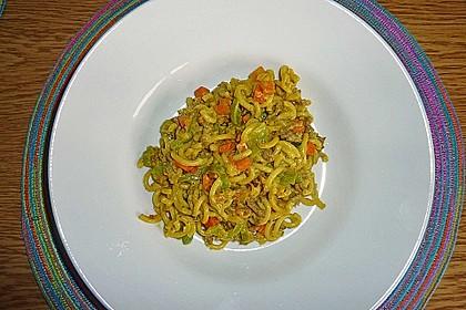 Curryrahm - Nudeln mit Hackfleisch 22