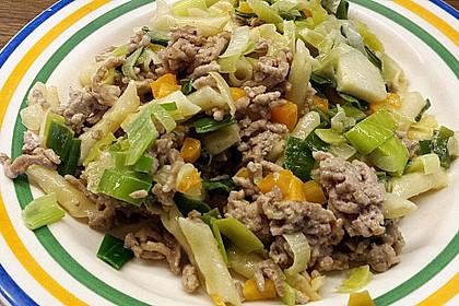 Curryrahm - Nudeln mit Hackfleisch 11