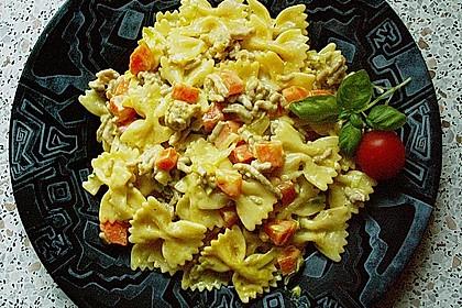 Curryrahm - Nudeln mit Hackfleisch 9