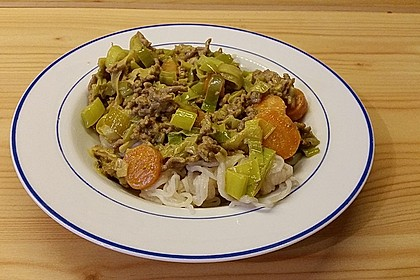 Curryrahm - Nudeln mit Hackfleisch 17