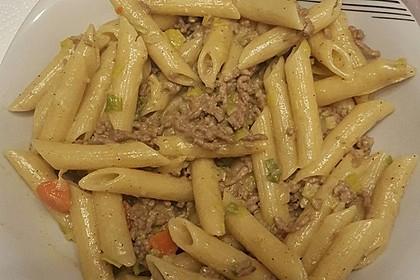 Curryrahm - Nudeln mit Hackfleisch 15