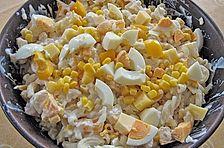 Gelber Nudelsalat