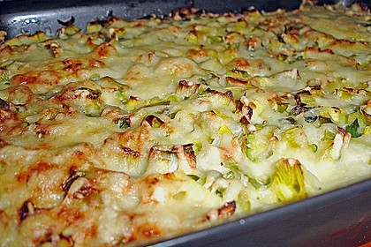 Kartoffel - Lauch - Gratin 10