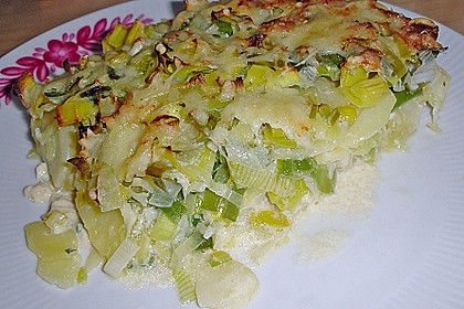 Kartoffel - Lauch - Gratin 8