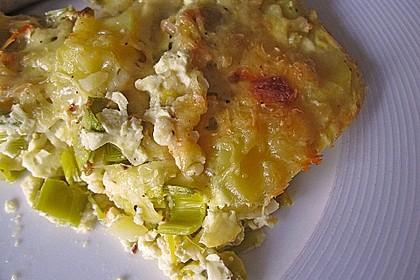 Kartoffel - Lauch - Gratin 9