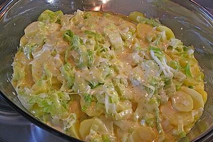 Kartoffel - Lauch - Gratin 12