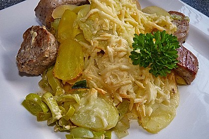 Kartoffel - Lauch - Gratin 0