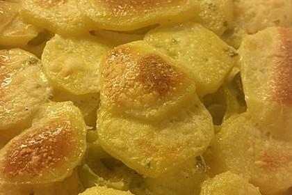 Kartoffel - Lauch - Gratin 4