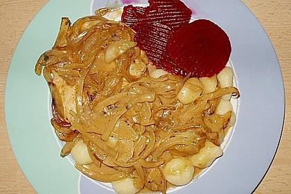 Zwiebel - Sahne - Hähnchen 1