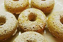 Walnuss - Donuts für die Backform