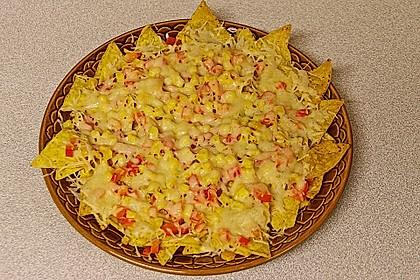 Überbackene Taco - Chips