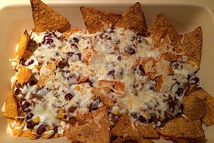 Überbackene Taco - Chips 4