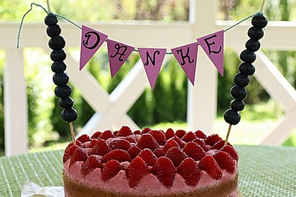 Biskuitboden für Torten und Kuchen 2