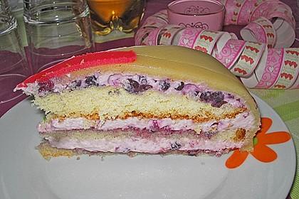 Biskuitboden für Torten und Kuchen 11