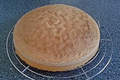 Biskuitboden für Torten und Kuchen 0