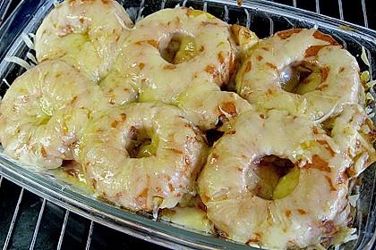 Schweinefilet & Ananas in Currysahne 6