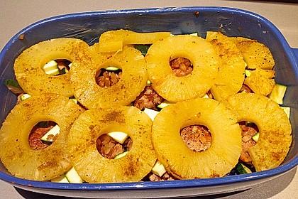 Schweinefilet & Ananas in Currysahne 11
