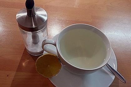 Heiße Zitrone mit Ingwer und Minze 8
