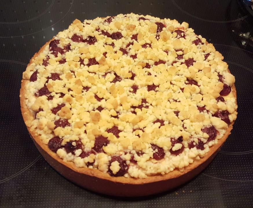 Käse Kirsch Kuchen Blech : blech kirsch k se kuchen mit streuseln rezept mit ~ Lizthompson.info Haus und Dekorationen