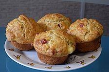 Käse - Salami Muffins