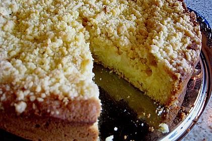 Apfel - Streuselkuchen mit Pudding 53