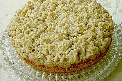 Apfel - Streuselkuchen mit Pudding 5