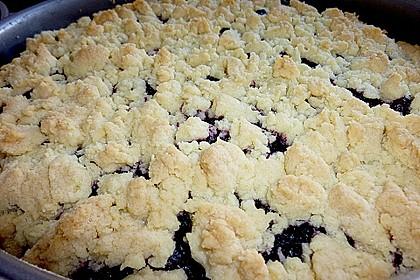 Apfel - Streuselkuchen mit Pudding 35