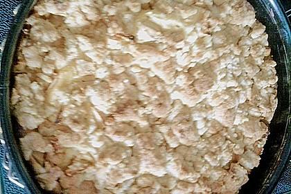 Apfel - Streuselkuchen mit Pudding 59